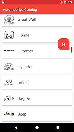 Cars Catalog 1.0.3 screenshots 1