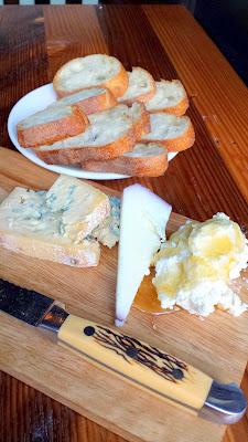 Jacknife PDX cheese board