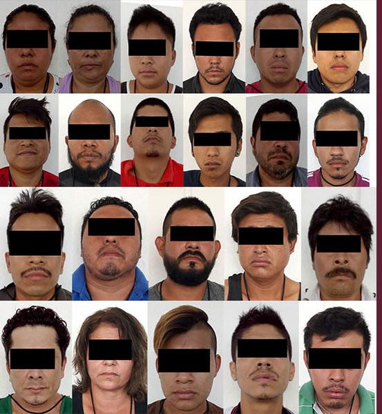 Traslada Fiscalía a El Amate a 22 detenidos por despojo en el ejido Copoya.