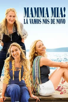 Baixar Filme Mamma Mia! Lá Vamos Nós de Novo Torrent Grátis