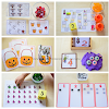 October Preschool Math Activities