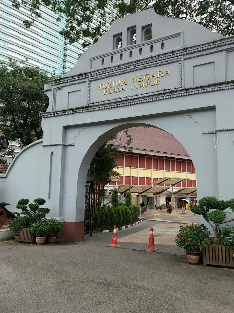 National Museum kuala Lumpur, places of interest kuala lumpur, tourism, visit kuala lumpur,