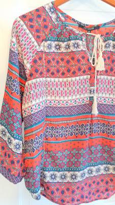 Stitch Fix top of 19 Cooper Misla Tie-Neck Blouse