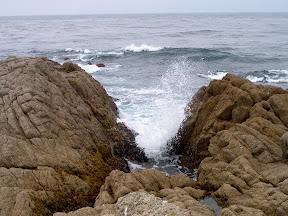 Sea swell, 17 Mile Drive