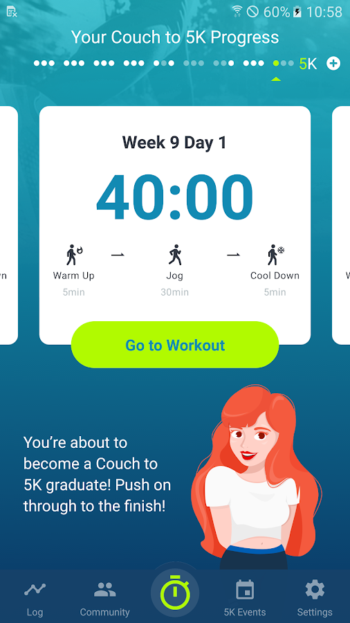 Couch to 5K®- screenshot