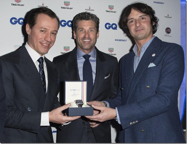 Emanuele Farneti;Stefano Accorsi;Patrick Dempsey;Andreas Albeck