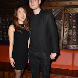 OIC - ENTSIMAGES.COM - Phoebe Fend and Luke Watkinson  at the  Franklin Lake - single launch party in London 1st March 2016 Photo Mobis Photos/OIC 0203 174 1069