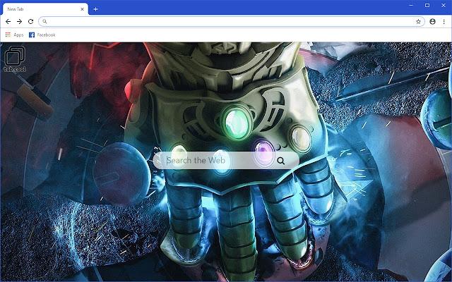 Cool Thanos HD  Avengers Infinity War