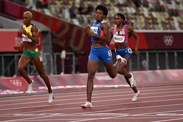 """Marileidy Paulino """"sigue volando bajito"""" avanza a la final de los 400 metros planos"""