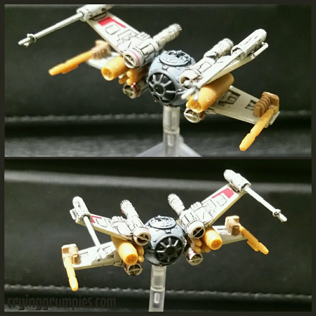 Star Wars Ugly Tie-X modificado por Xela