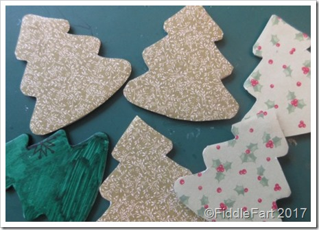 Jewelled Christmas Tree Tags 2