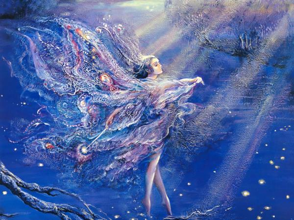 Goddess Of Blue Space, Goddesses