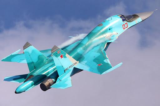 Pesawat Pembom Su-34