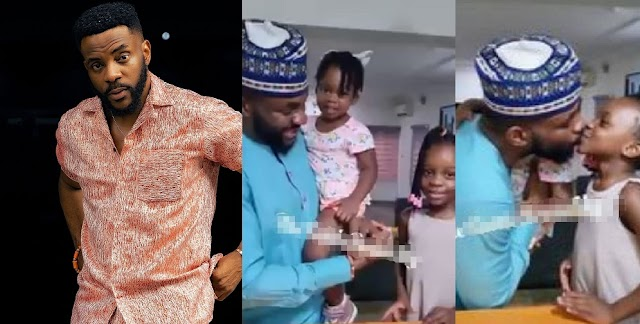 Beautiful Video Of Ebuka And His Family As He Celebrates His 39th Birthday [Video]