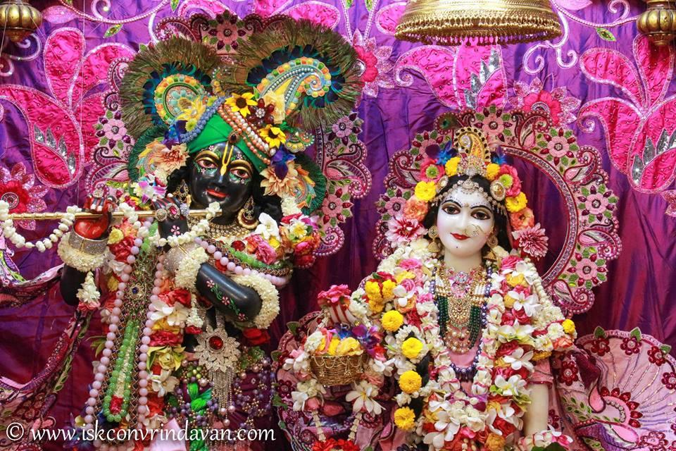 ISKCON Vrindavan Sringar Deity Darshan 08 April 2016 (15)