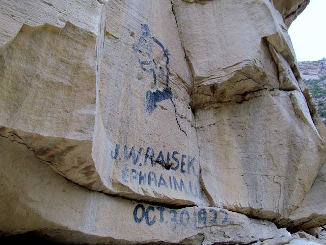 J.W. Raisek, Ephraim, Utah, October 30, 1922