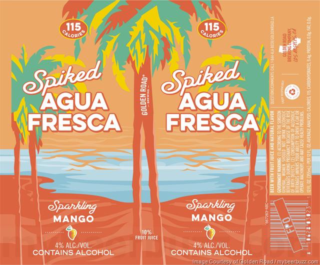 Golden Road - Spiked Agua Fresca - Mango