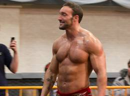 Sexy in Red - Hot Shirtless Hunks and Bodybuilders