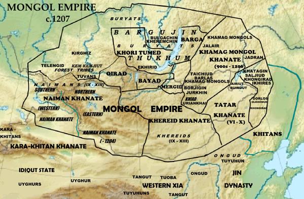 Какая религия была у Чингис-хана? 1