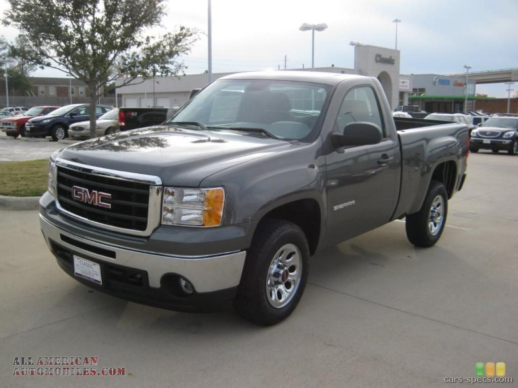 2007 gmc sierra 1500 regular cab specifications pictures prices. Black Bedroom Furniture Sets. Home Design Ideas