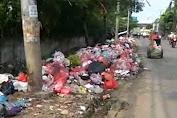 Tumpukan Sampah di Kabupaten Tangerang