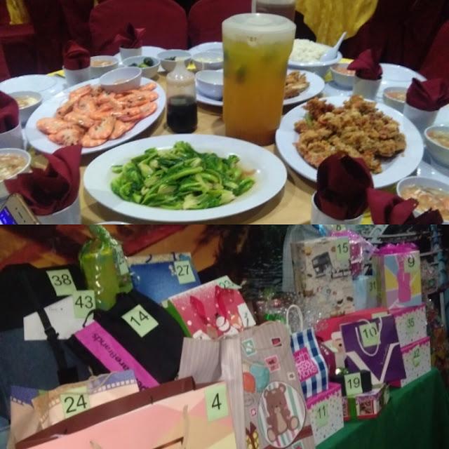 Majlis Makan malam dan exchange gift 2017