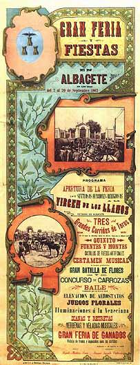 Cartel Feria Albacete 1902
