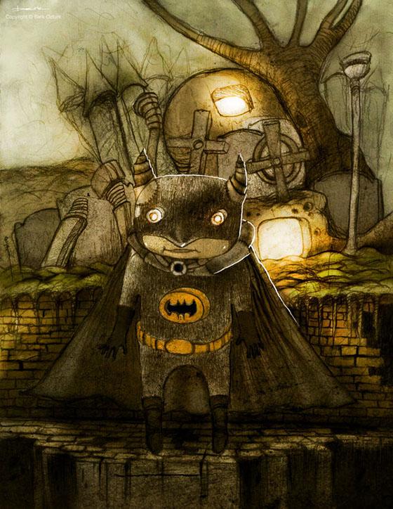 Batman, de Berk Ozturk