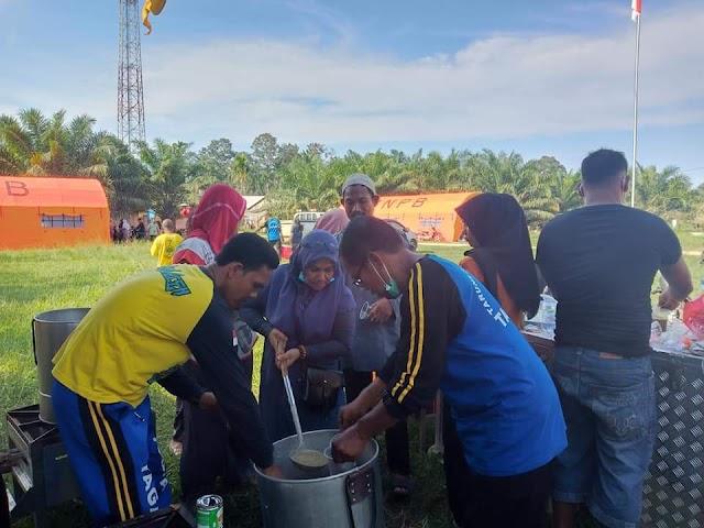 Dinsos Atim Buka Dapur Umum Di Pengungsian Di Lokasi Pengungsi