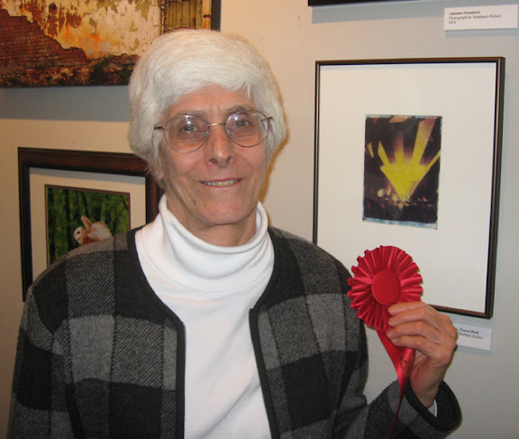"Second Place: Barbara Zucker ""Balloon Glow"""