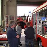 Bei der Fa. Ziegler in Mühlau bei Chemnitz angekommen erfolgt nach der Begrüßung eine erste Besichtigung des neuen Fahrzeuges.