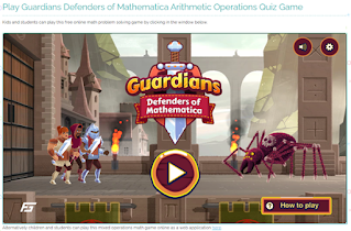 Game Guardians (Defender of Mathematica)