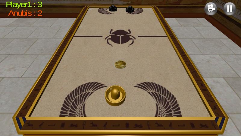 Скриншот Воздушный хоккей 3D