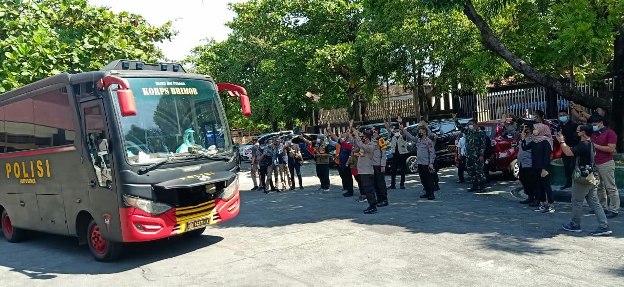 Lagi, 50 Warga Klaten Positif Covid-19 di Evakuasi ke Isolasi Terpusat di Asrama Haji Donohudan