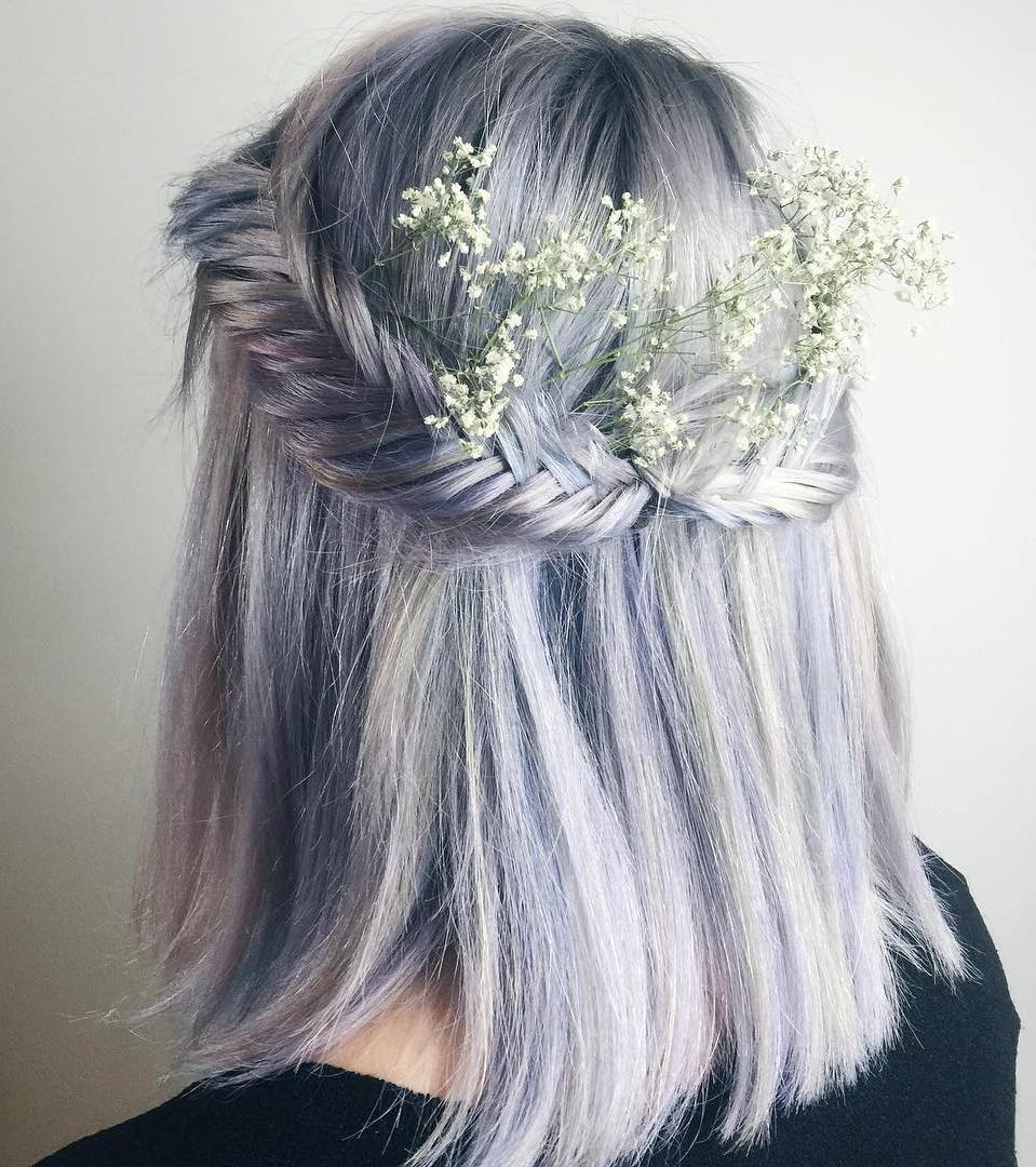 The trendy Wedding Hairstyles For And include hair color 2017 16
