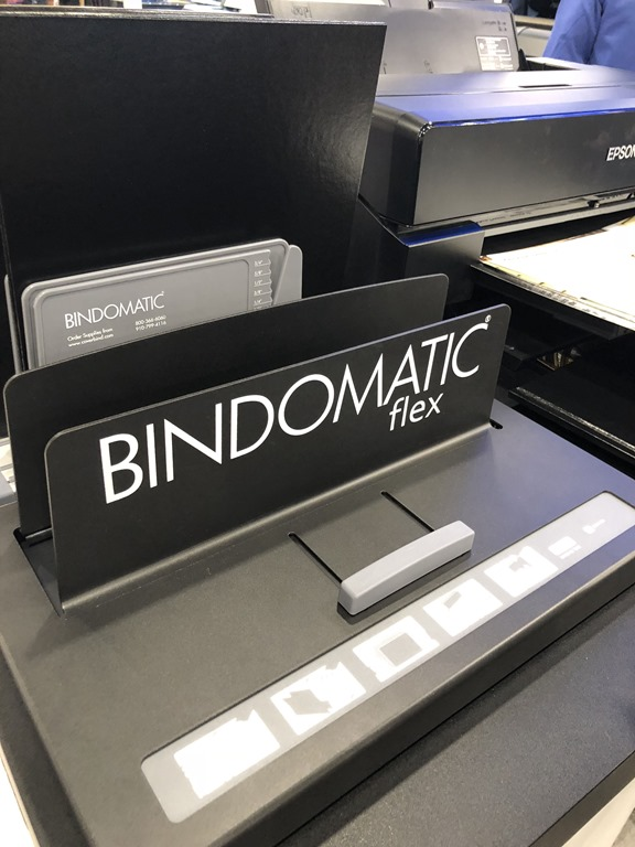 CoverBind: Bindomatic Accel Flex Thermal Binding Machine at Amazon