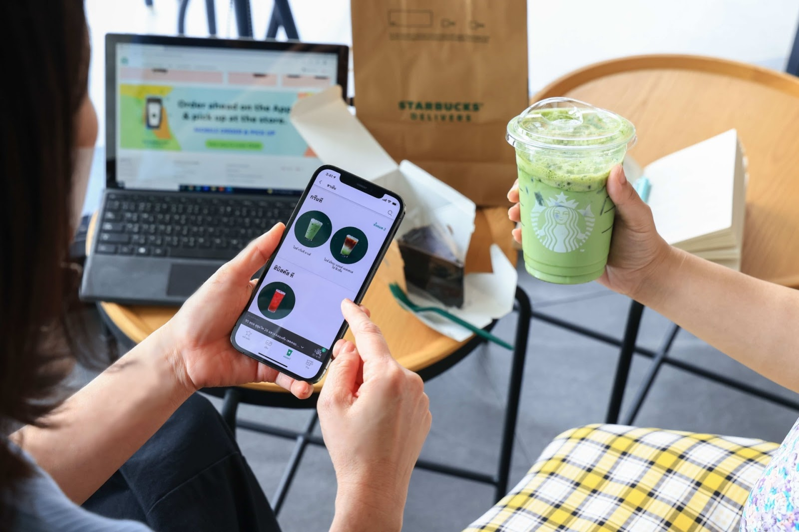 Starbucks เปิดตัวบริการเดลิเวอรี่บนแอปพลิเคชัน Starbucks Thailand