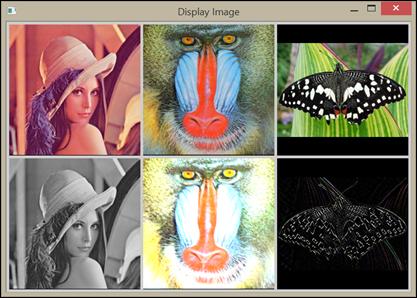 multiple image window