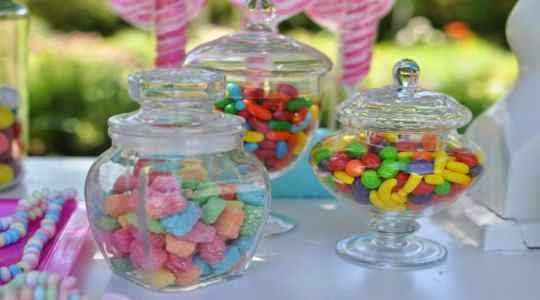 Dulces para fiestas de niños