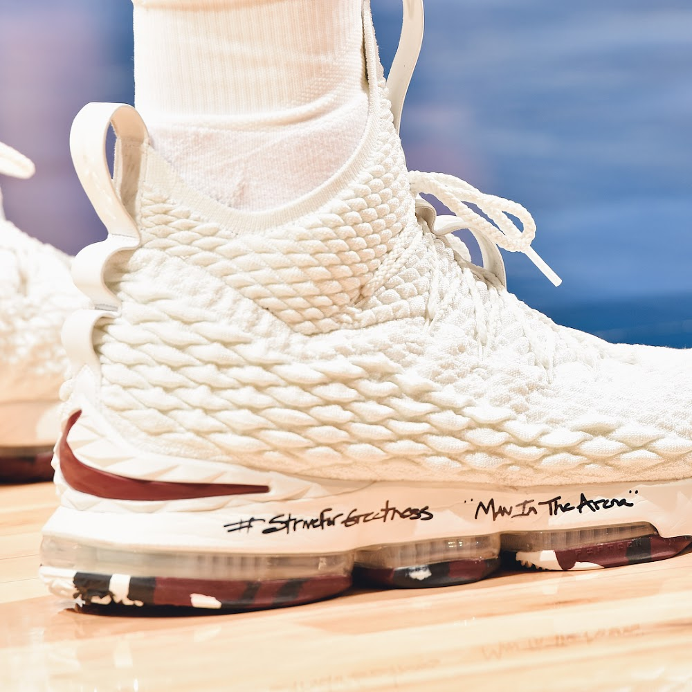 ... Detailed Look at Nike LeBron 15 Man In The Arena PEs ... bb0d3734f