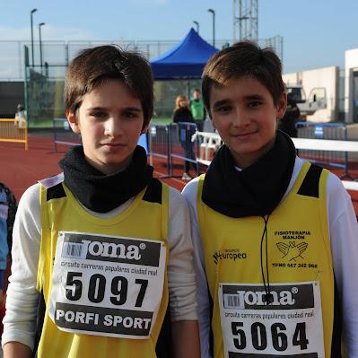Media de Miguelturra 2012 - Carreras Mini