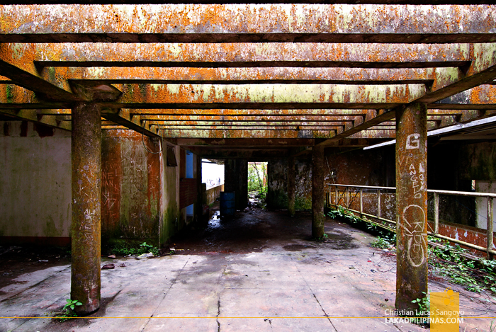 Abandoned Building at Tagaytay's People's Park in the Sky