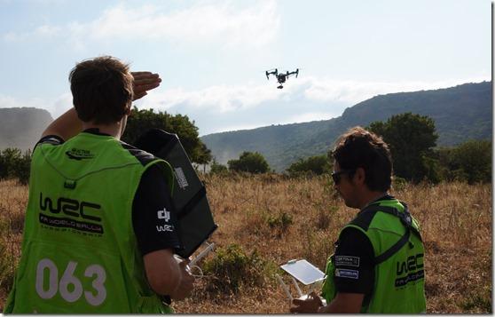droni dji rally italia sardegna