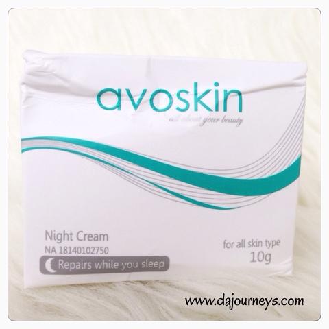 Review Avoskin Night Cream