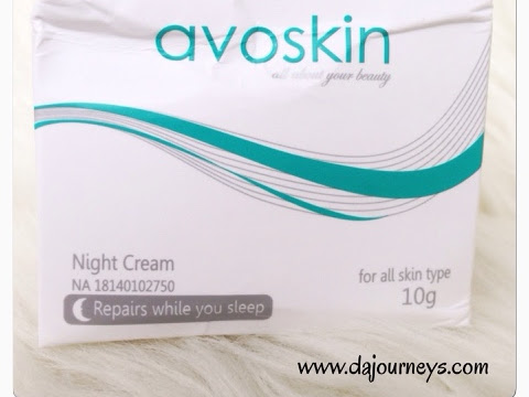 Review Avoskin Night Cream