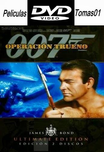 007 (4): Operación Trueno (1965) DVDRip