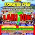 Lomba Lari Krakatau Open 10 K Siap Digelar, Animo Masyarakat Kalianda Terbilang Tinggi