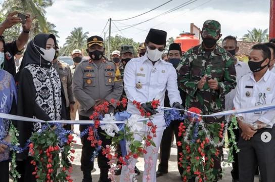 Dandim 0913/PPU Hadiri Launching Kampung Tangguh Nusantara Wilayah Koramil 02/Waru