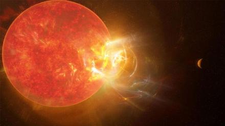 Έκλαμψη που έσπασε ρεκόρ συνέβη στο κοντινότερο άστρο του Ηλιακού Συστήματος