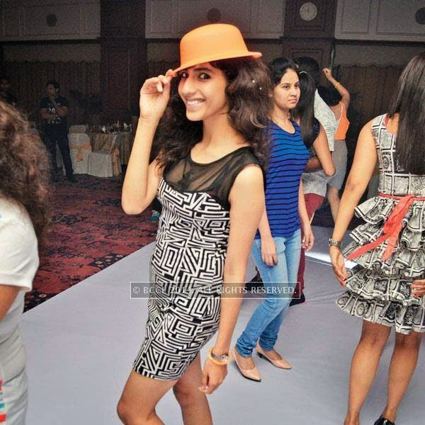 Payal at a party, held in Bhopal.